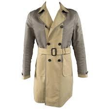 burberry prorsum men s trench coat 40 khaki jacket