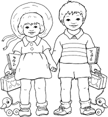 Small Picture Little Boy 28 Characters Printable coloring pages
