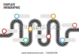Highway Infographic Template Vector Download Free Vector Art