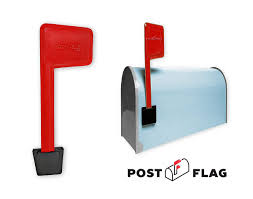 Universal Peel and Stick Mailbox Flag Replacement Post Flag