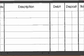 Free Printable Balance Sheet Template Of 5 Checkbook Balance