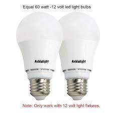 60 Watt 12 Volt Light Bulb Ashialight 12 Volt Led Bulbs Rv Light Bulbs Low Voltage Light Bulbs Equal 60 A19 696230826246 Ebay