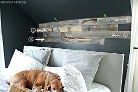 wooden wall bedroom master bedroom reclaimed wood accent wall with view from the fridge wood accent wall master bedroom