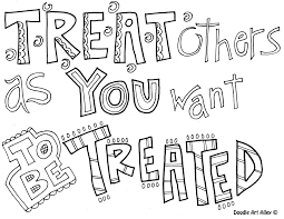 Quote Coloring Pages From Doodle Art
