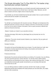 Barber Resume Professional Barber Cover Letter Sample 2 Barber