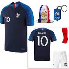 France Soccer Team Pogba Griezmann Mbappe Kid Youth Replica