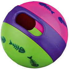 "<b>Игрушка для кошек Trixie</b> ""Мяч для лакомства"", диаметр 6 см ..."