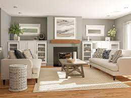 11 Ways To Lay Out A Living Room With Fireplace Design Modsy Blog