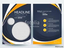le page design templates abstract vector modern flyer design brochure design template