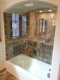custom glass shower doors tub enclosures bathtub surround in door for decor 18