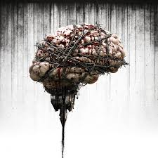 Upside Down Art Digital Art The Evil Within Video Games Barbed Wire Blood