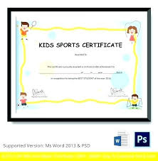 Certificate Template Word Most Improved Award Academic Printable