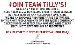 General Job Applications Simple Job Application Tilly's Cheesesteaks