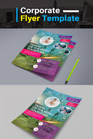 Travel Flyer Psd Corporate Identity Template