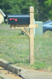 wood mailbox posts. Beautiful Posts Wooden Mailbox Posts Of Course This One Looks Really Good With The New  Stained Wood Post Plans And A