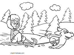Seasons of the year coloring pages are a great activity for kids of all ages. Free Printable Winter Coloring Pages For Kids Crafty Morning