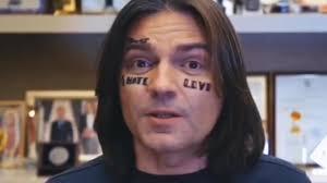 дмитрий маликов подцепил татуировки на лице в петербурге