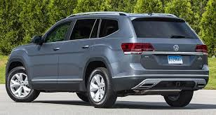 2018 volkswagen atlas. delighful atlas rear of 2018 volkswagen atlas threerow suv for volkswagen atlas t