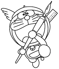 Tranh Tô Màu Đẹp Cho Bé: 50 Tranh Tô Màu Doraemon Và Các Bạn - P4