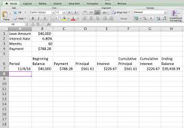 Ammortization Table How To Create An Amortization Schedule With Excel To Manage Your Debt