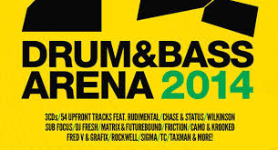 Drum Bass Arena 2014 Tracklist