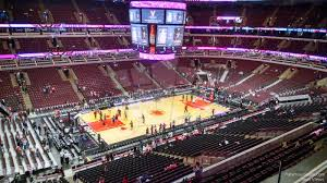 United Center Bulls Seating Chart United Center Section 320 Chicago Bulls Rateyourseats Com