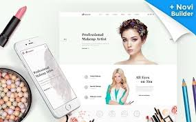 makeup artist websites templates template monster 61316 by delta