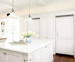 white fridge in kitchen. double refrigerators view full size. crisp white kitchen fridge in