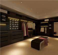 Modern Bedroom Closet Beige Carpet For Modern Master Bedroom Closet With Stylish Bench