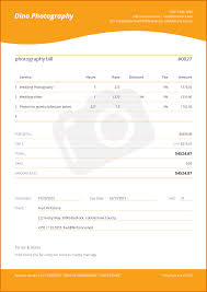 Com Templates Invoices Photography Photography Invoice