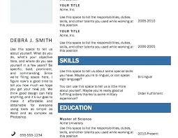Resume Generator Free Download Professional Resume Templates