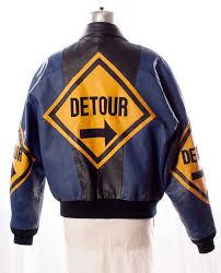 detour sign jacket uni size large vintage 80 s hip hop style