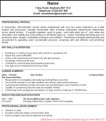 Sql Data Analyst Resume Sql Data Analyst Cv New Data Analyst Resume