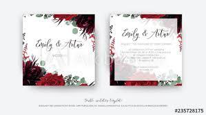 Wine Border Template Wedding Vector Floral Invite Invitation Save The Date Card Design