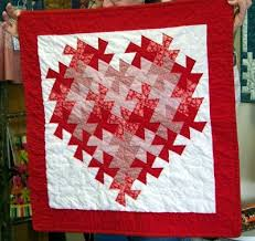 Best 25+ Twister quilts ideas on Pinterest | Twister image ... & Valentine Lil Twister Quilt using my pattern at Freemotion by the River Adamdwight.com