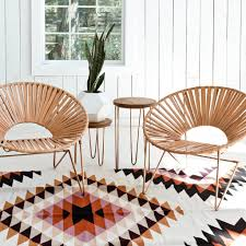 Aldama Chair - Copper & Natural
