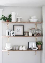 kitchen shelf. 8 ways to style open shelving in the kitchen shelf t