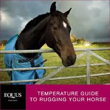 Temperature Guide To Rugging A Horse Equus