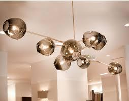 lindsey adelman globe branching bubble chandelier 110v 220v modern chandelier light lighting 8 head
