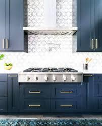 patterned tile backsplash navy blue kitchen with gray patterned tile black and white patterned backsplash tile