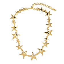 gold star necklace by kenneth jay lane