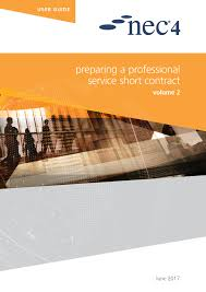 Nec4: Professional Services Contract - Nec Contracts