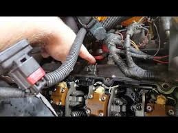 ford powerstroke faulty injector wiring harness 7 3 p1316 diagnosis troubleshooting and repair of injector glow plug harnesses