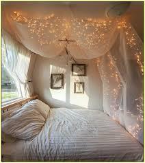 led fairy lights room