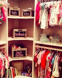 baby girl nursery closet organization great way to organize your baby girls clothes and hair