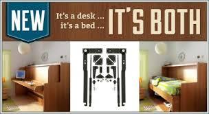 murphy bed desk folds. Hiddenbed Fold-Out Bed And Desk Mechanism Murphy Folds