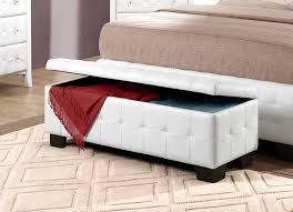 stylish upholstered storage bench — jen  joes design