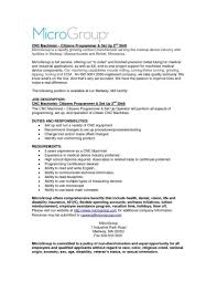Cnc Machinist Resume Resume