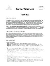 Example Of A Objective For A Resumes Example Of Objective For Resume Thrifdecorblog Com