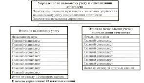 Магистерская диссертация pdf Структура и штатная численность Управления по налоговому учету